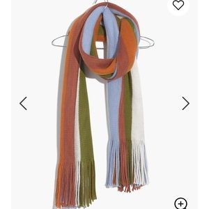 SUPER SOFT Madewell Striped Scarf